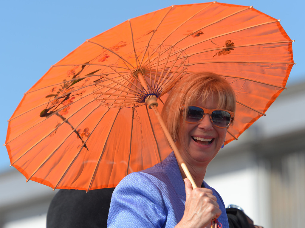 . The 26th Annual Martin Luther King, Jr., Peace & Unity Parade Saturday, January 18, 2014, Long Beach, CA.   Congress woman Janice Hahn. Photo by Steve McCrank/Daily Breeze