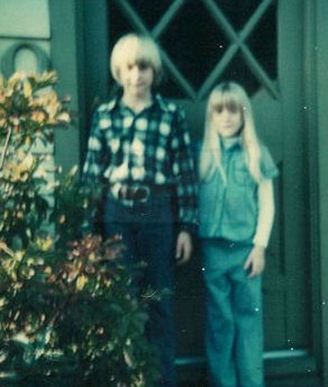 . This undated photo provided by Kim Cobain, Kurt Cobain\'s sister, shows a young Kurt Cobain, left, and Kim in their childhood home in Aberdeen, Wash.  Cobain\'s mother, Wendy O\'Connor, is putting the 1.5-story bungalow _ which is assessed at less than $67,000 _ on the market for $500,000. But she\'d also be happy entering into a partnership with anyone who wants to turn it into a museum. (AP Photo/Courtesy Kim Cobain)