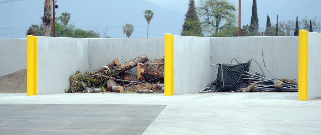 . Large space for trees, trash during the grand opening of the state-of-the-art Public Works and Transportation Yard at the El Monte Public Works & Transportation Yard on Thursday, April 25, 2012 in El Monte, Calif.    (Keith Birmingham/Pasadena Star-News)