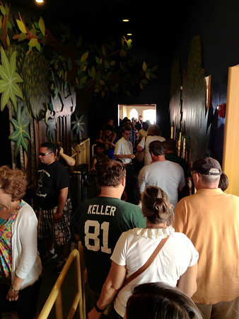 Peter Pan Magic Kingdom - FastPass Queue