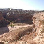 View of the canyon bottom