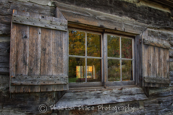 Old School House Window