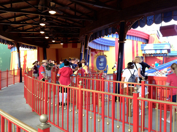 Dumbo - Finally a line!