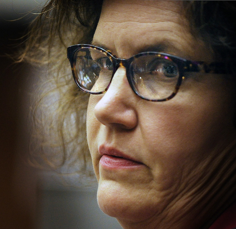Description of . Dana Farrar, one of the witnesses called to the stand at the murder trial of Christian Gerhartsreiter, 52,  known as