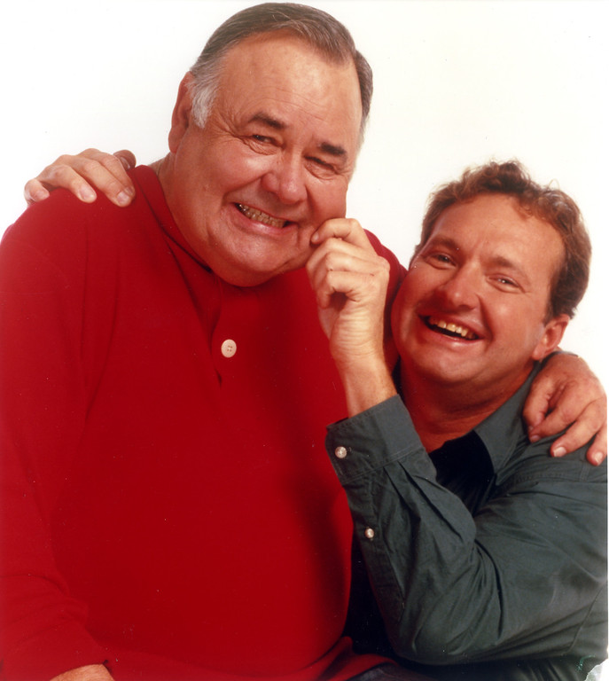 ". Jonathan Winters and Randy Quaid in ""Davis Rules.\""   Daily News file photo"