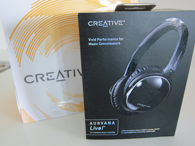 Creative Aurvana Live Headphones