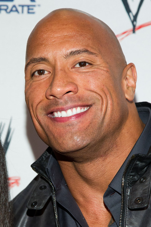 . Dwayne Johnson, The Rock, attends the Superstars For Sandy Relief Event, on thursday, April 4, 2013 in New York, NY. (Photo by Dario Cantatore/Invision/AP)