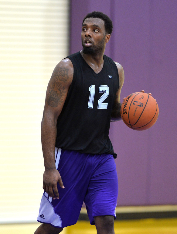 . Lakers host potential draft picks for workouts at Toyota Sports Center in El Segundo Friday June 20, 2014. P.J. Hairston / North Carolina - Texas Legends D-League     Photo By  Robert Casillas / Daily Breeze