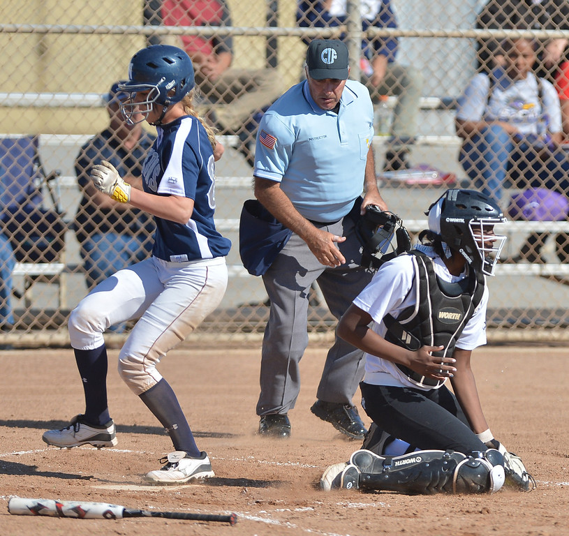 . 0314_SPT_TDB_L_CAR-NORTH--- Torrance, CALIFORNIA--3/13/13--- Staff Photo: Robert Casillas / LANG--- Carson at North Torrance softball.