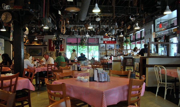 The interior of Big Ed's