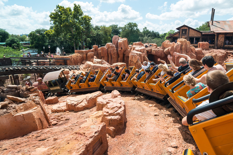 Walt Disney World - Big Thunder Mountain Railroad