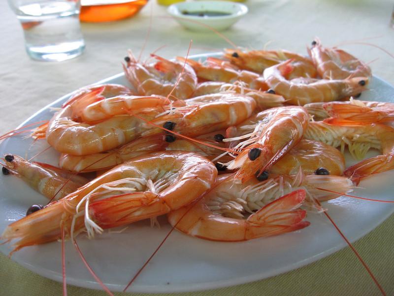 Seafood at Lamma Island