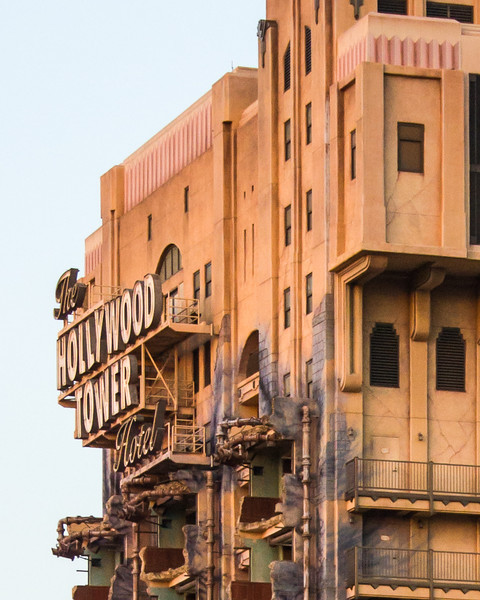 Tower of Terror at DCA