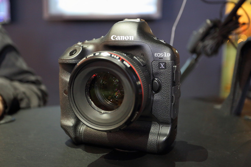 Canon EOS 1DX at NAB 2012