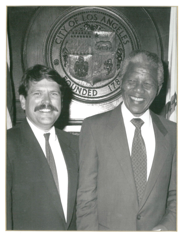 . Supervisor Zev Yaroslavsky issued the following statement today on the passing of Nelson Mandela, 95, legendary anti-apartheid leader, former president of South Africa and an international champion of democracy and justice: