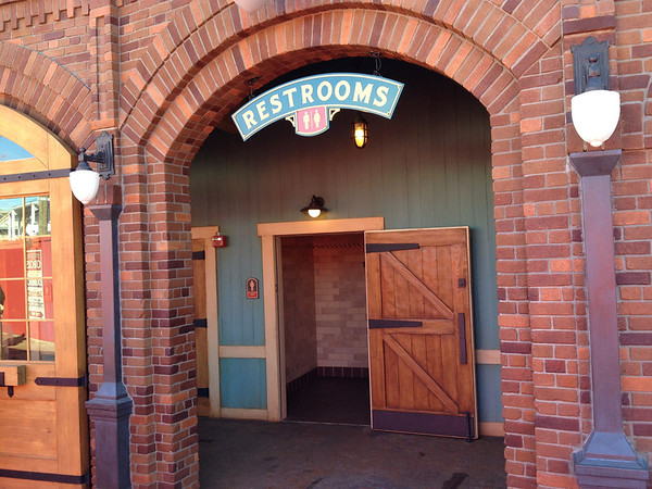 Storybook Circus Restrooms