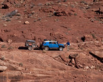 Tomas and the Toyota FJ Cruiser on White Rim