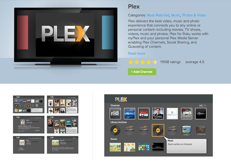 Plex Channel for Roku