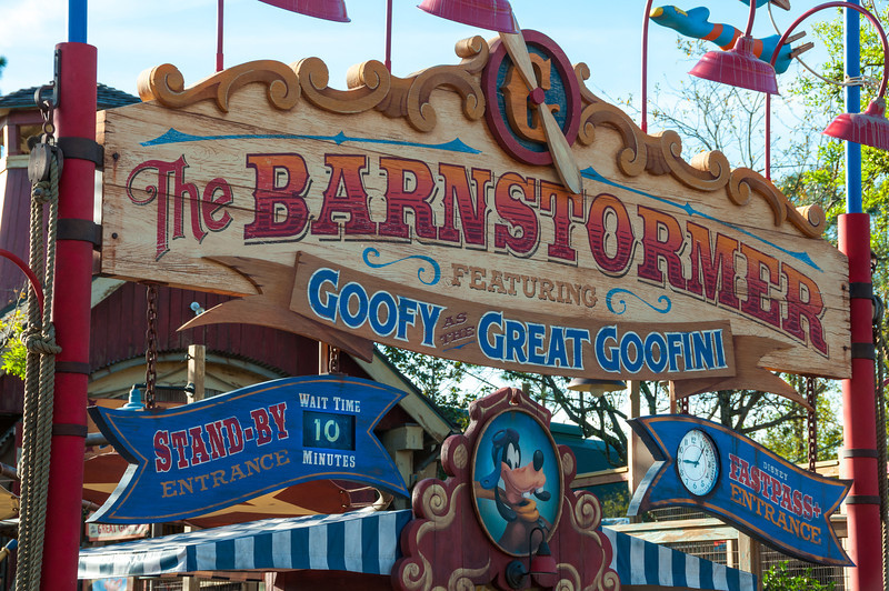 Barnstormer - Disney World
