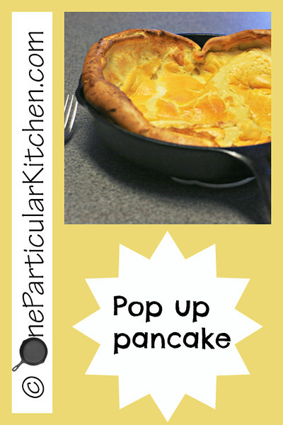 Pop up pancake