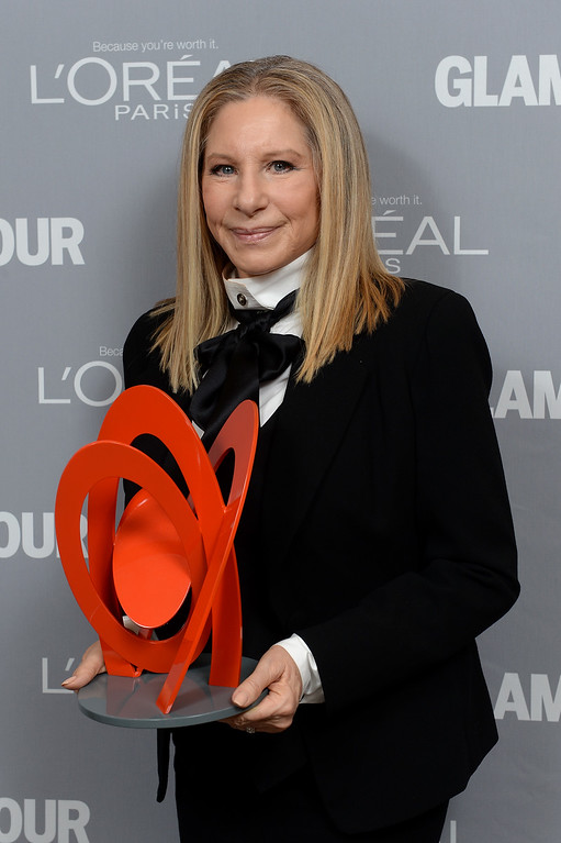 . Singer Barbra Streisand attends Glamour\'s 23rd annual Women of the Year awards on November 11, 2013 in New York City.  (Photo by Dimitrios Kambouris/Getty Images for Glamour)