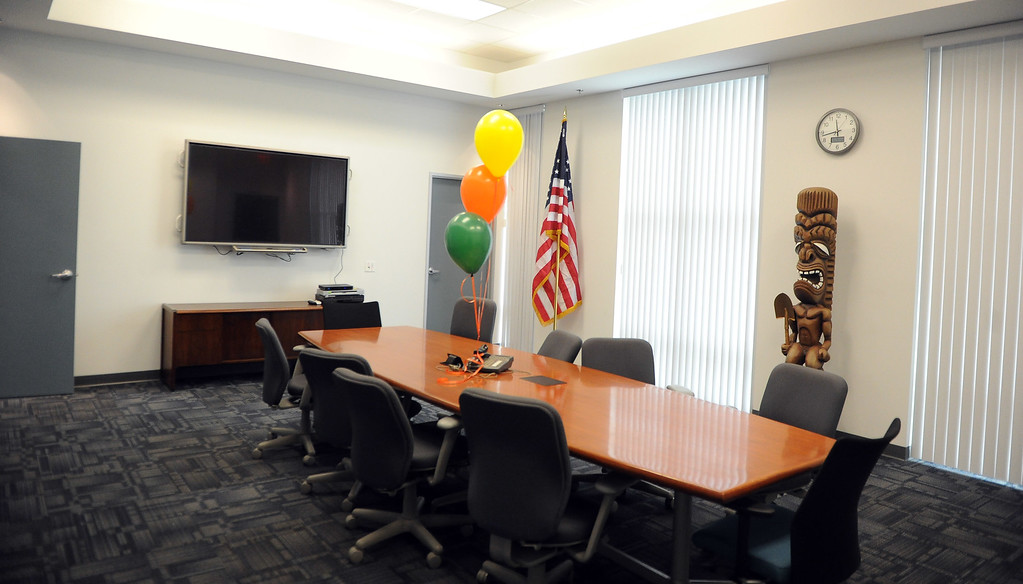 . The new offices during the grand opening of the state-of-the-art Public Works and Transportation Yard at the El Monte Public Works & Transportation Yard on Thursday, April 25, 2012 in El Monte, Calif.    (Keith Birmingham/Pasadena Star-News)