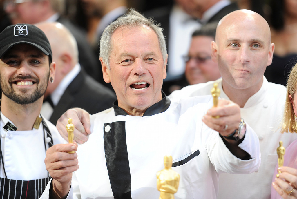. Wolfgang Puck arrives at the 85th Academy Awards at the Dolby Theatre in Los Angeles, California on Sunday Feb. 24, 2013 ( Hans Gutknecht, staff photographer)