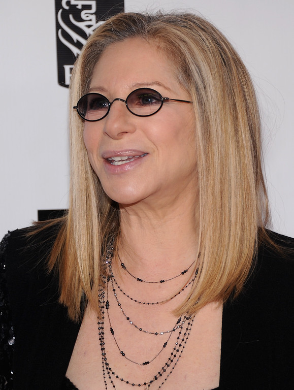 . Barbra Streisand attends the 40th Anniversary Chaplin Award Gala at Avery Fisher Hall at Lincoln Center for the Performing Arts on April 22, 2013 in New York City.  (Photo by Jamie McCarthy/Getty Images)