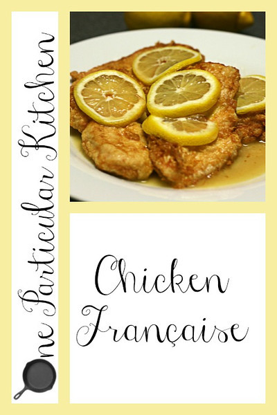 Chicken Franaise (lemon chicken)