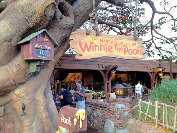 Winnie the Pooh - Still Empty at 7:48am!