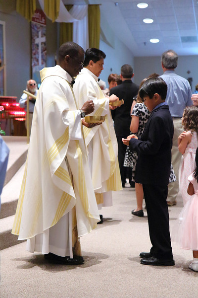 First Holy Communion at St. Stephen Catholic Church