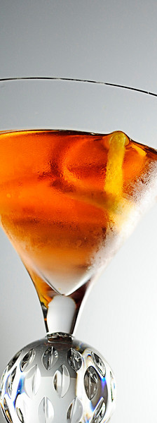 Trilby Cocktail (Vermouth), photo © 2010 Douglas M. Ford. All rights reserved.