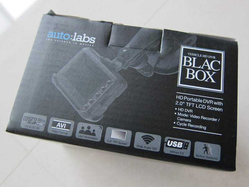 Auto: Labs BlacBox Car DVR