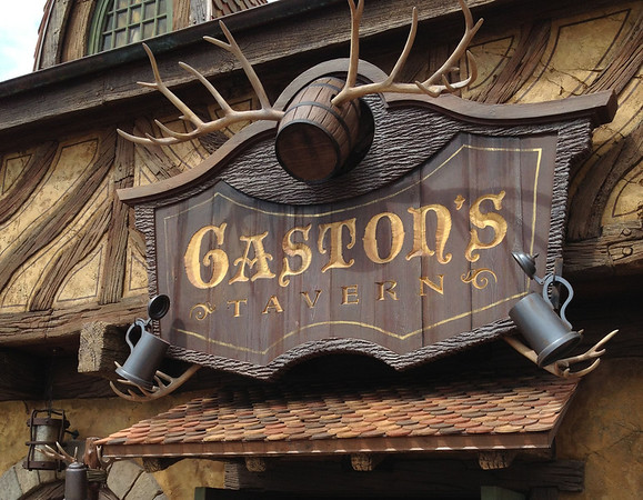 Gaston's Tavern Entrance