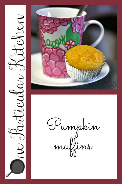 Pumpkin muffins