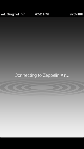 Setting Up AirPlay on Zeppelin Air