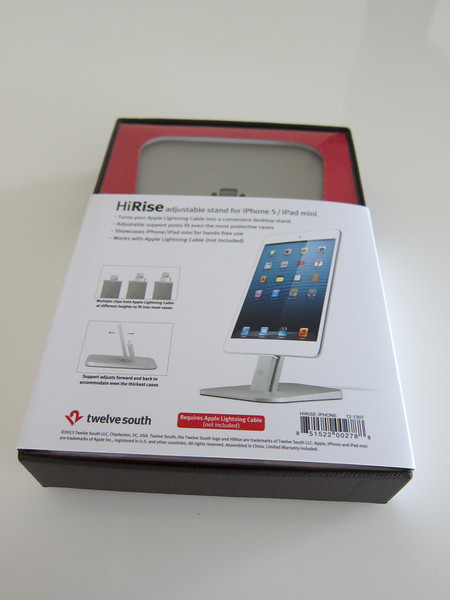 Twelve South HiRise for iPhone 5 and iPad Mini
