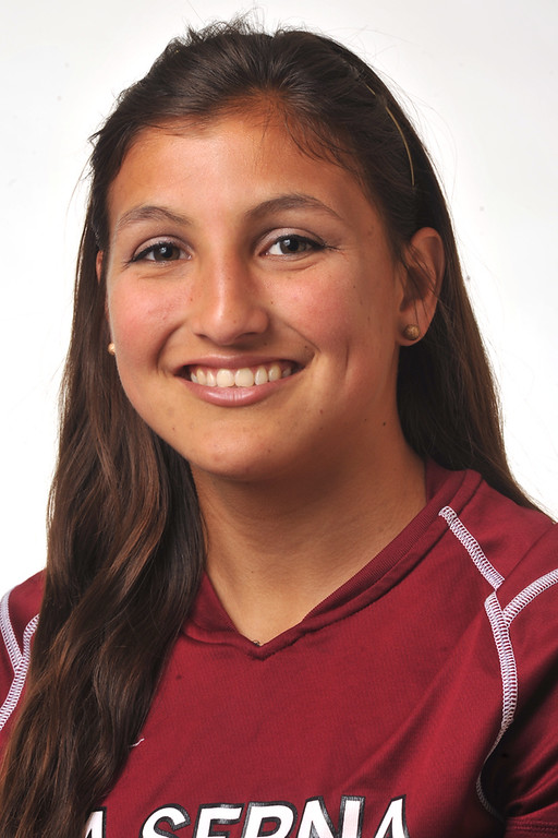 . Danielle Telles from La Serna High School was selected to the Whittier Daily News All-Area Girls Soccer team on Wednesday March 27, 2013. (SGVN/Staff Photo by Keith Durflinger)