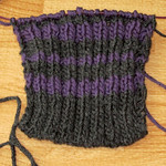 Coed Ribbed Wrist Warmer #1 - WIP