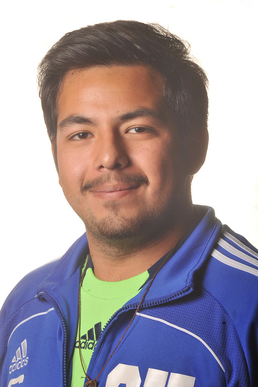 Description of . David Lopez from El Rancho High School was selected to the Whittier Daily News All-Area Boys Soccer team on Monday April 1, 2013. (SGVN/Staff Photo by Keith Durflinger)