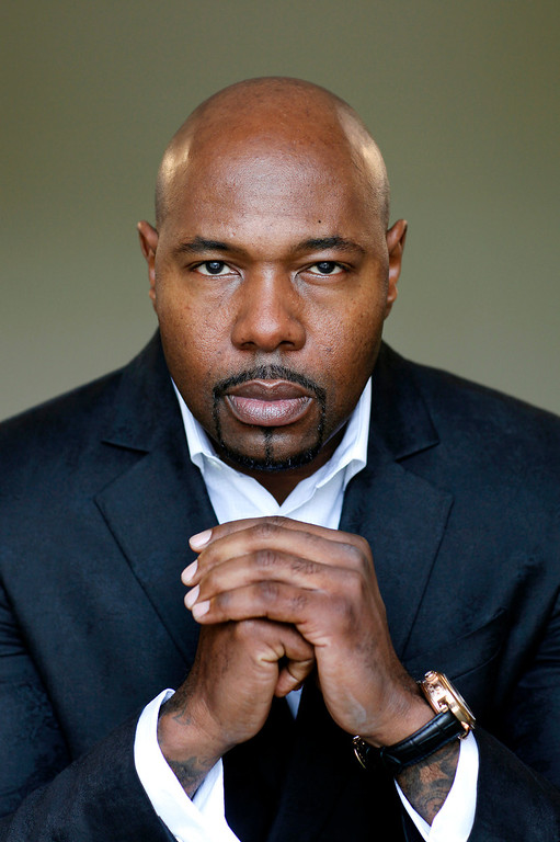 ". Antoine Fuqua directed the upcoming movie ""Olympus Has Fallen.\"" Photographed at the Four Season Hotel in Los Angeles Monday, March 18, 2013. (Michael Owen Baker/Staff Photographer)"