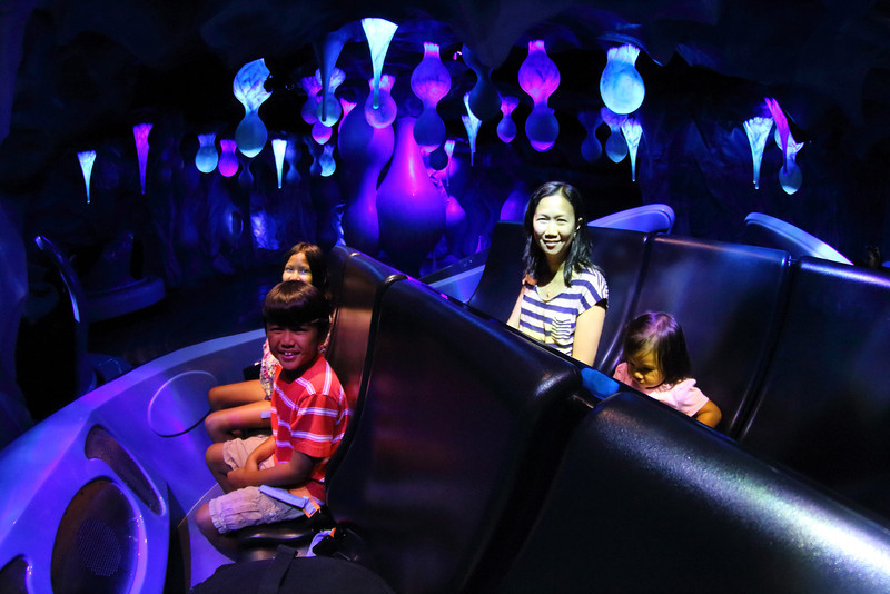 Sea World's Antarctica: Empire of the Penguin motion simulation ride