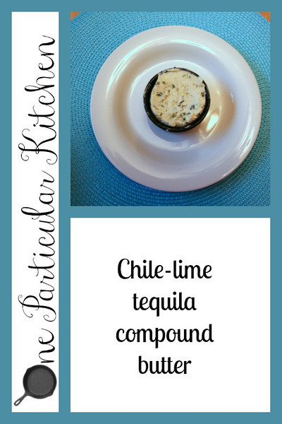 Chile-lime-tequila compound butter