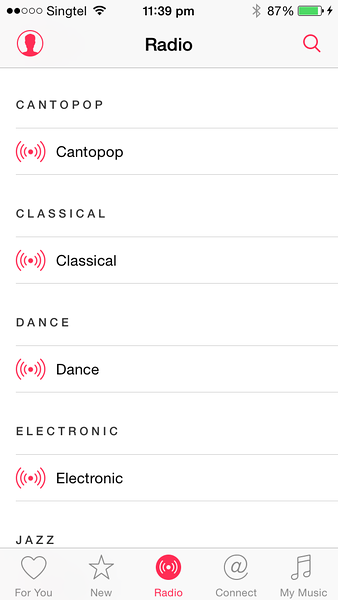 Apple Music and Cantopop Radio Channel