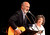 Noel Paul Stookey of Peter Paul & Mary fame performs with wife Rev. Betty Stookey during the One Light, Many Candles program at California State University San Bernardino March 10, 2013.  GABRIEL LUIS ACOSTA/STAFF PHOTOGRAPHER.