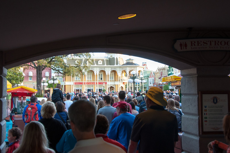 Entering the Magic Kingdom - Spring Break 2013