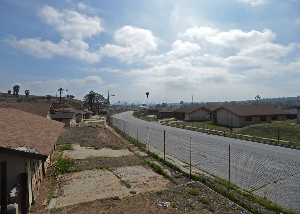 . The Ponte Vista finalized plan is being voted on the by the Los Angeles City Council to develop the former Naval housing base in San Pedro Tuesday, March 04, 2014, San Pedro, CA.    Photo by Steve McCrank/Daily Breeze