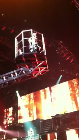 Justin Bieber's performance in Glendale, AZ