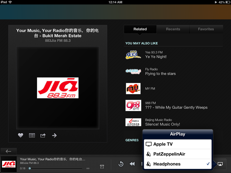 AirPlay and Zeppelin Air