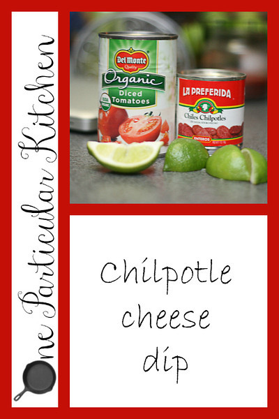 Chilpotle cheese dip